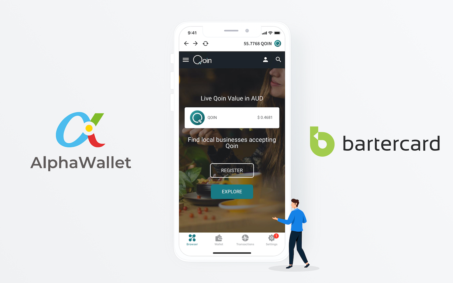 AlphaWallet Announces Partnership with Bartercard