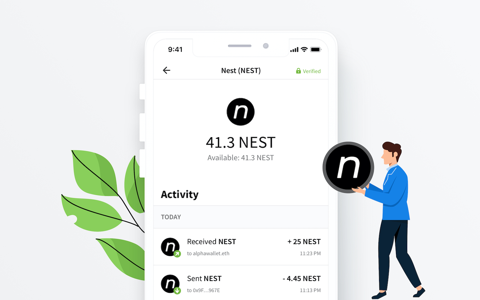 Leverage the power of NEST inside AlphaWallet 3.0