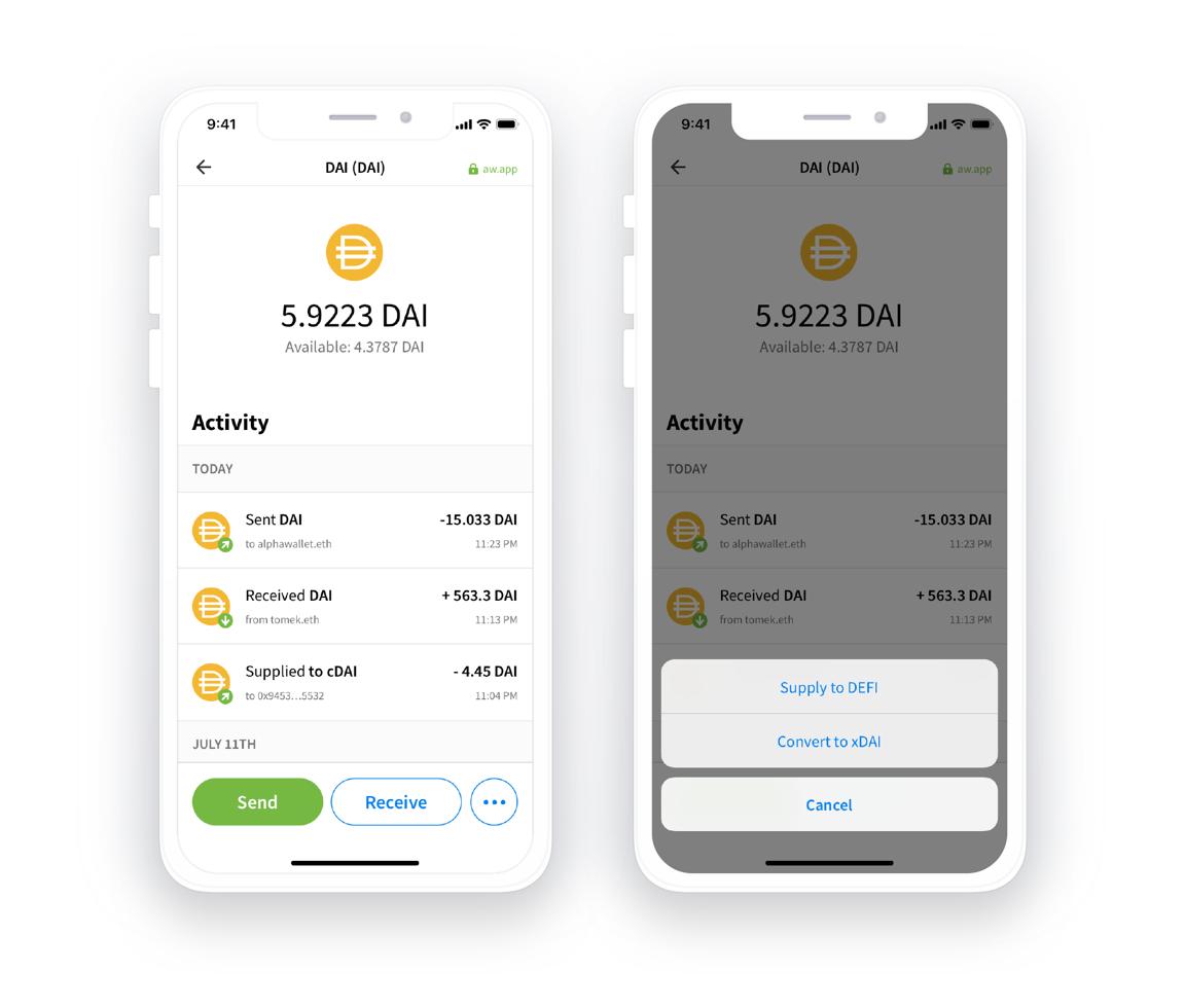 smart tokens