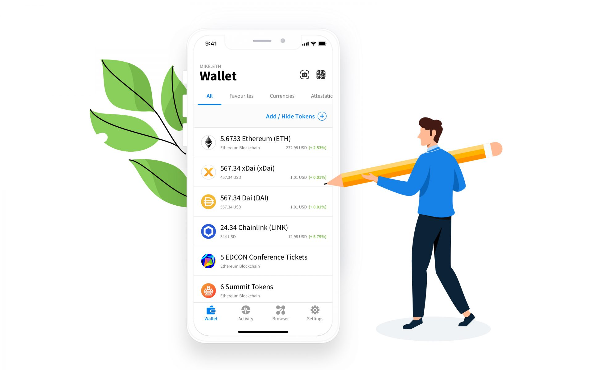 Open source ethereum wallet