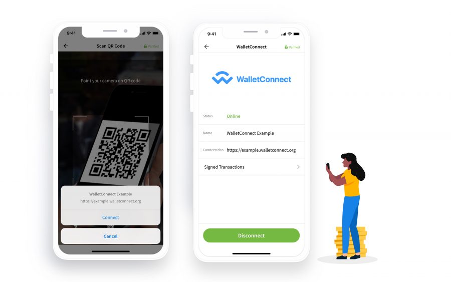 walletconnect mobile wallet