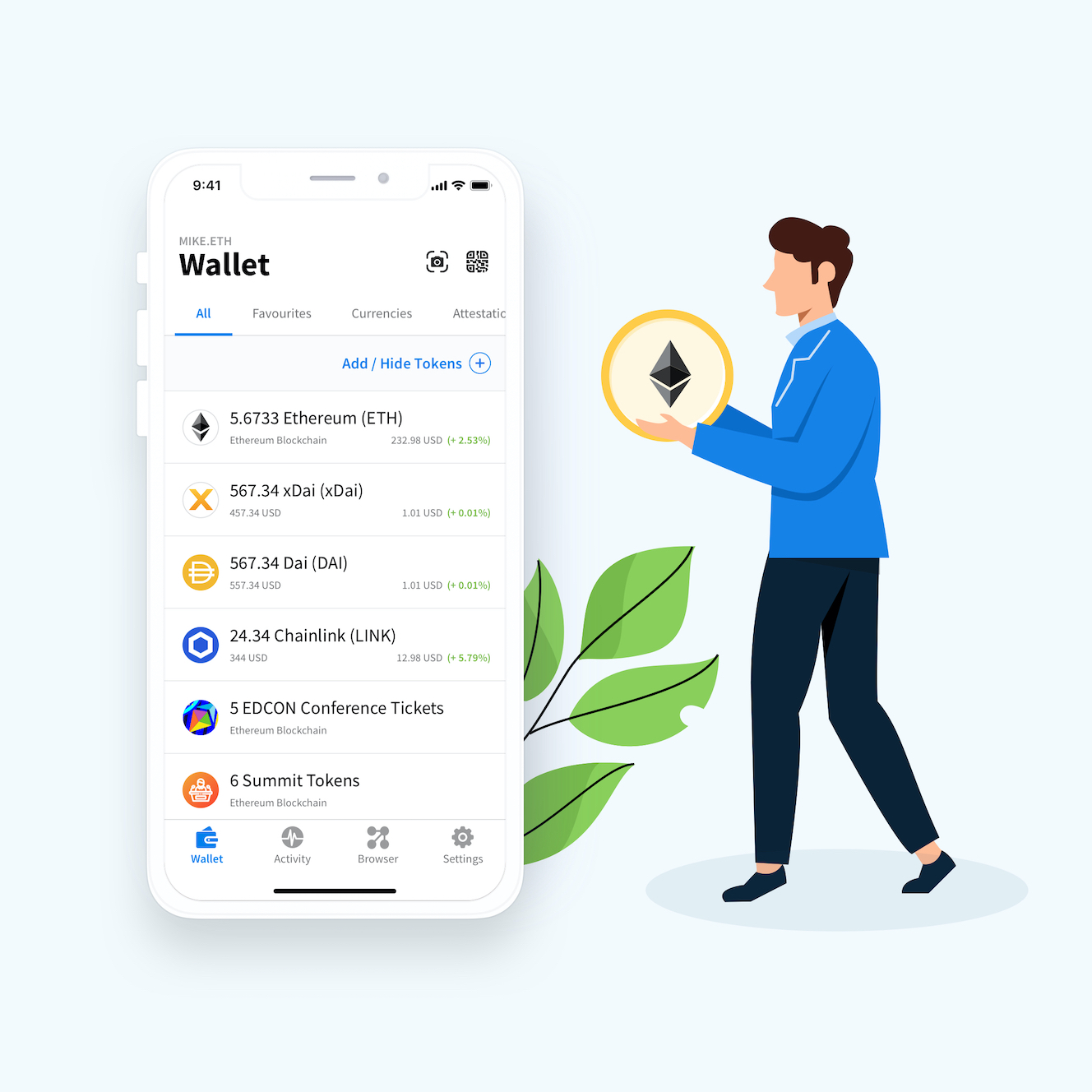 Best Wallet for ER20 Tokens