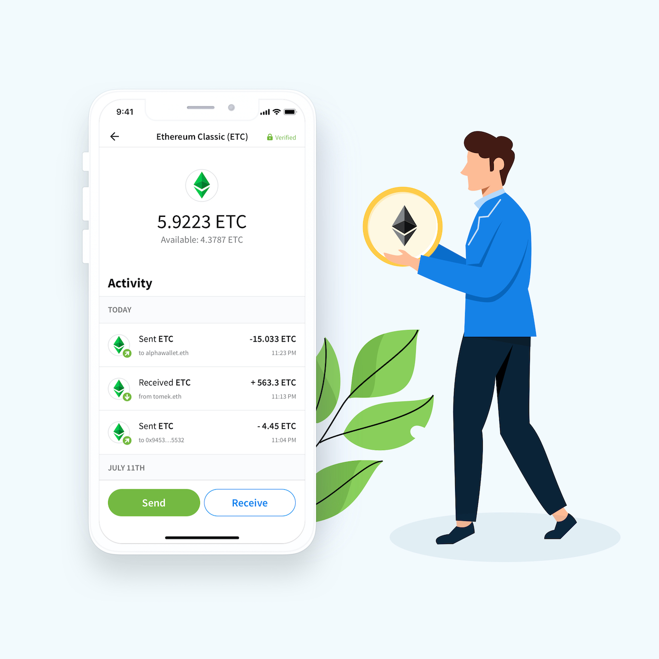 Wallet for Ethereum Classic