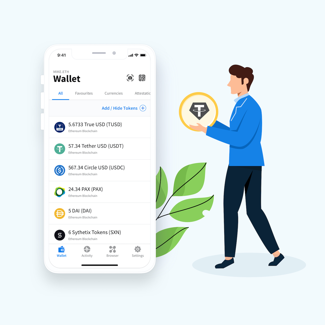 best wallet for stablecoins
