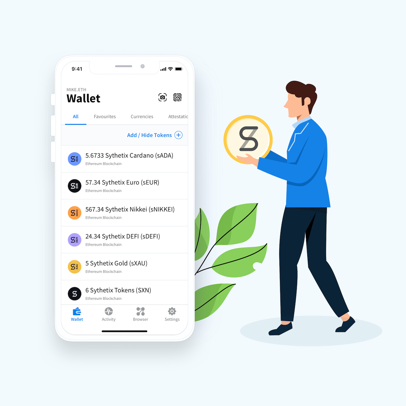 best wallet for Synthetix Tokens