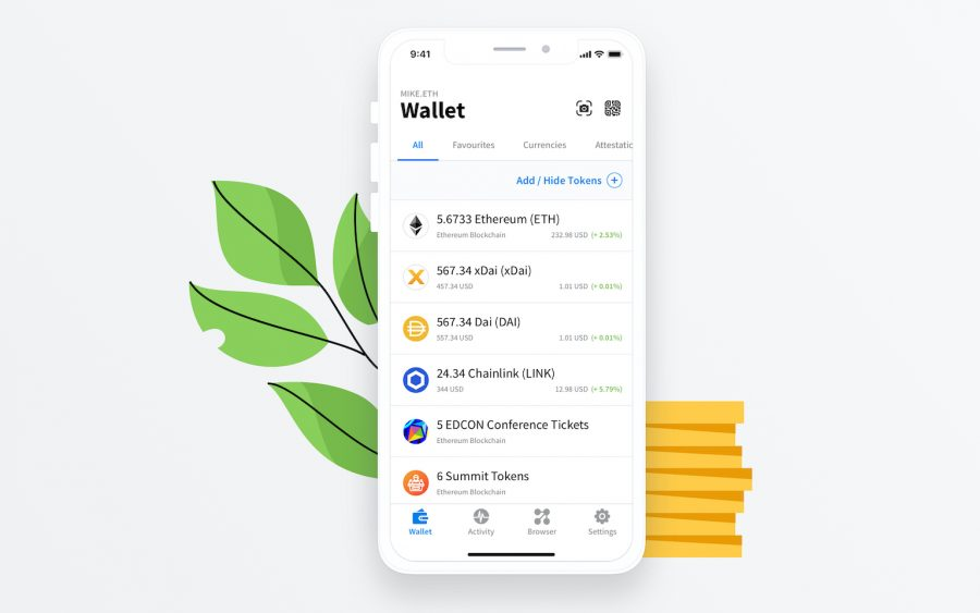 Verify the authentic AlphaWallet app, from alphawallet.com