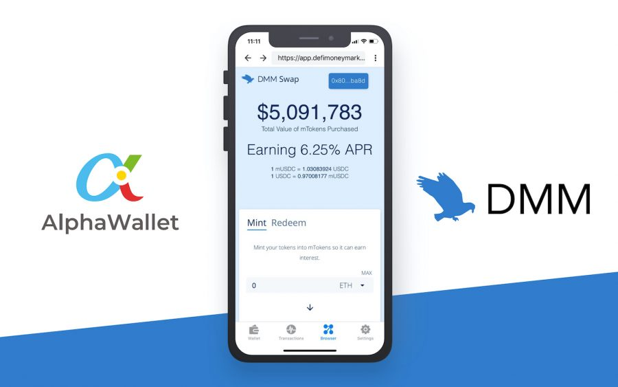 AlphaWallet Welcomes the Defi Money Market Foundation!