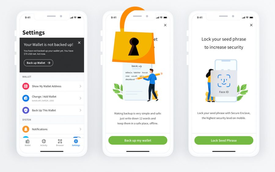 Secure Enclave Wallet — Your keys in good hands